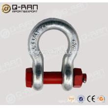 Grillete acero alta resistencia montaje galvanizado grillo de acero