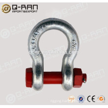 Steel Shackle/High Strength Rigging Galvanized Steel Shackle