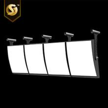Cajas de luz curvas para menú de restaurante