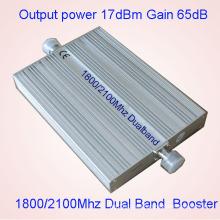 Inicio de la célula de señal de teléfono Booster CDMA Dcs 850 1800MHz 3G Signal Booster