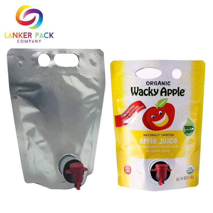 juice plastic bag