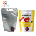 BRC Stand Up Juice Plastic Bag Dengan Spout