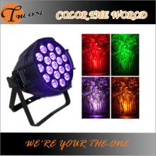 ステージディスコ18X17W LEDプロフェッショナル照明