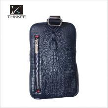 Men's Genuine Leather Fanny chest Packpack Bum Hip Shoulder Clutch Bag Handbag