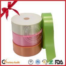 Décoration d'emballage de rouleau de ruban de cadeau de couleur de fantaisie