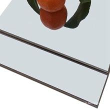 Panneau composite en aluminium anodisé miroir