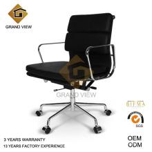 Couro vermelho Design Hotel mobiliário cadeira de reunião (GV-EA217)