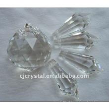 Cristal gota grânulos decoração do casamento