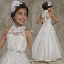Vestido de la muchacha del vestido de partido 2017 Princesa A-Line Nuevo vestido de la muchacha de flor del verano de la llegada para las bodas MF896 del bebé