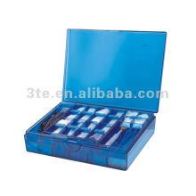 Kit de herramientas ópticas Caja de tornillos Caja de almohadillas de nariz