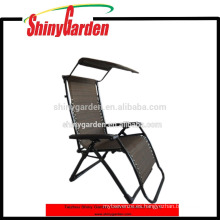Zero Gravity Canopy Sunshade Lounge - Silla de jardín
