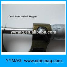 Профессиональные миниатюрные миниатюрные магнитные неодимовые магниты