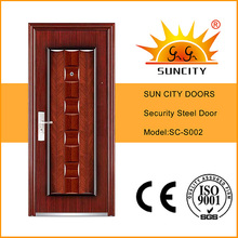 High Quality Yongkang Steel Metal Doors (SC-S002)