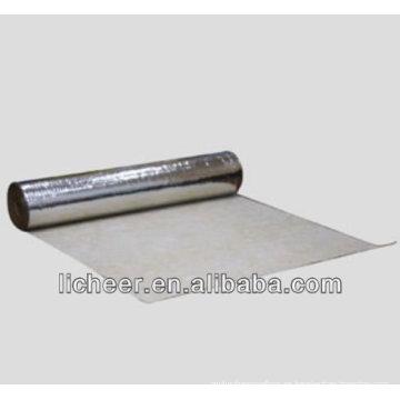 Negro eva foam laminado de pisos underlayment / underlayment de suelo impermeable