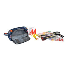 Large Capacity Student Pencil Case, Creative Side Opening Student Pencil Case, Dirt-Resistant and Washable Pencil Case Bag