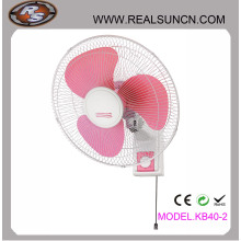 Ventilador de parede Eletrônico 16inch-Pink Cor