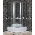 Glas-Schiebetür-Dusche-Einschließung (E-17)