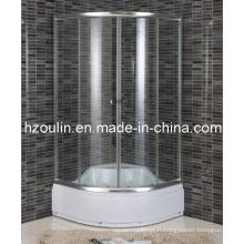 Porte coulissante en verre pour douche (E-17)