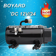 Hot Promo! R134A mobile air conditioning 12v dc kompressor for aire acondicionado 12v para tractors klima air conditioner