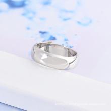 Xuping anillo redondo clásico con rodio plateado