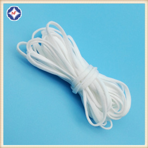 White Elastic String For Face Mask