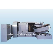 Horizontal steel ball flashing machine