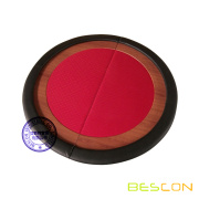 Compacto Premium redonda plegable mesa de Poker