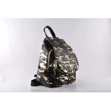 Ladies′ Fashion Braid Travel School Backpack (LY060217)