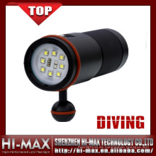 Fotografía submarina profesional 5000 Lumen Blanco Proyector LED UV rojo
