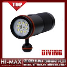 Профессиональная подводная фотография 5000 Lumen White Red Ультрафиолетовый светодиодный прожектор