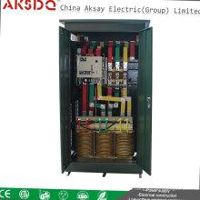 2015 Venta caliente SBW 3 fase Atomatic compensado Estabilizador de voltaje eléctrico con especificación hecha en la fábrica de Wenzhou Yueqing