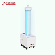 Робот-стерилизатор ультрафиолетового излучения