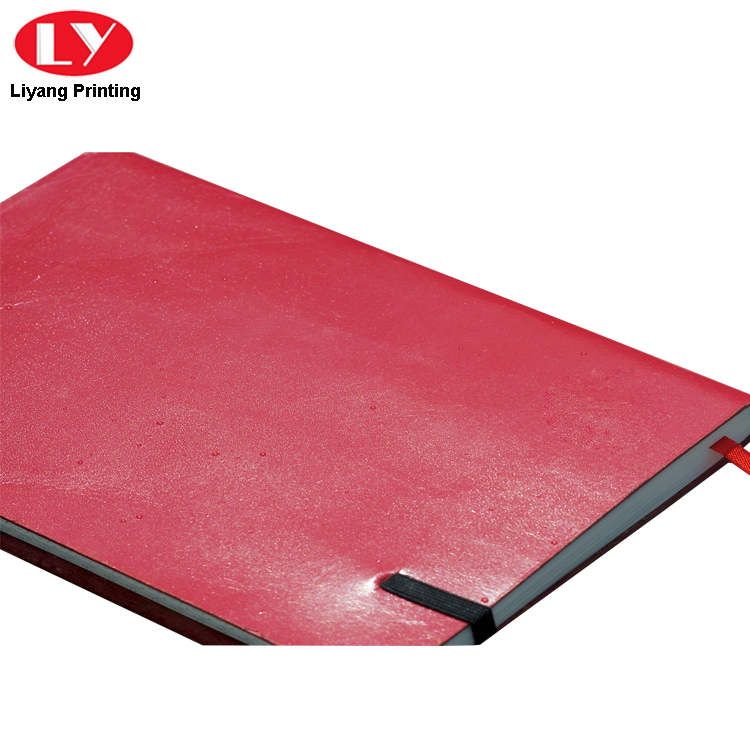 Red Notebook Pu