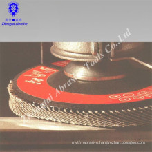 coated abrasive flap disc T27
