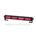 Emergencia policía coche LED rojo ADVERTENCIA luces tablero CE luz (SL332)