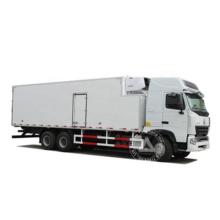 Howo Reefer Freezer Cold Box Truck for milk/fruit/seafood /meat/ beverage /vegetable