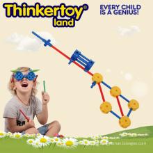 Plastic DIY Education Toy for Children Plastic Block Toys