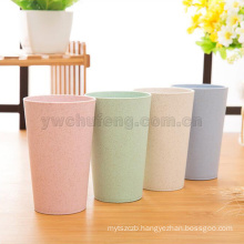 Wholesale Wheat straw creative travel and household eco-friendly gargle cup drinking mug