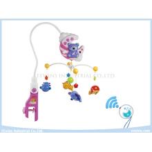 Juguetes teledirigidos móviles musicales del bebé con la función de sincronización