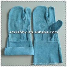 Guantes de soldadura reforzados de tres dedos sin forroJRW43