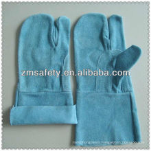 Reinforced three finger welding gloves with no liningJRW43