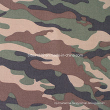 Cotton Twill Camouflage Fabric for Military Use (16X12/108X56)