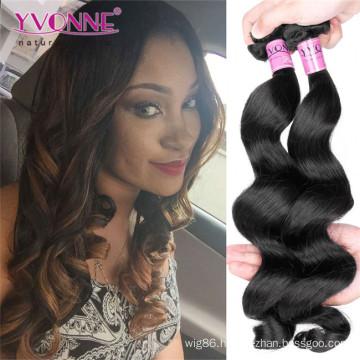 Wholesale Unprocessed Loose Wave Peruvian Virgin Hair