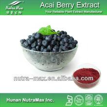 Brazilian High Quality Acai Berry Extract Powder Polyphenols Anthocyanidins