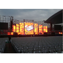 1500 Hz 420w / m2 Outdoor Rental Led Display