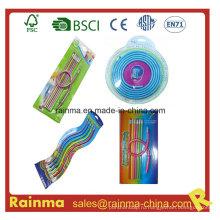 Цветной карандаш свободной формы для рекламы