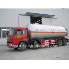 FAW 34.5m3 trucks del carro del lpg, 8x4 camión del tanque del lpg