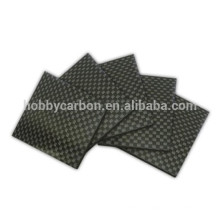 1.0mm 400X500mm , cnc parts for Drone , 3K UD twill matte full carbon fiber sheet
