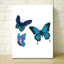 Pintura nova da borboleta do projeto para o ano novo