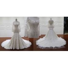 Buttons Close Heart Shaped Back Wedding Dresses